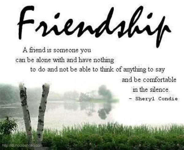 Bài văn cảm nghĩ về tình bạn số 7