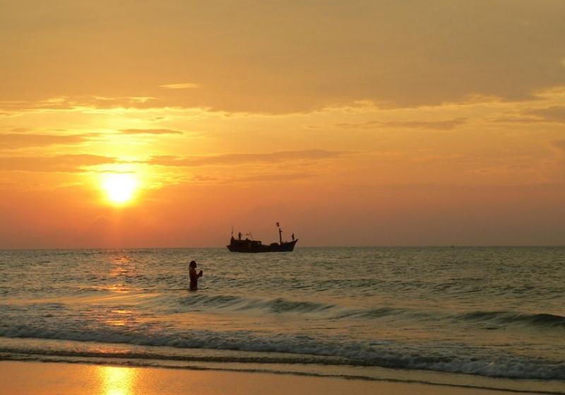 Chuyến đi biển Vũng Tàu