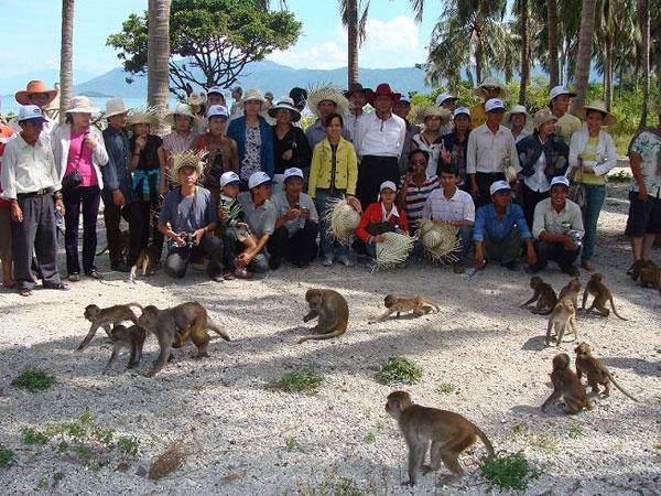 Chuyến tham quan ở Nha Trang