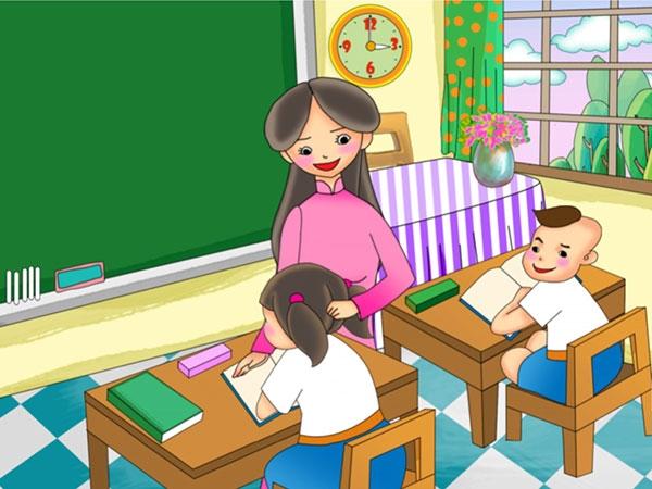 Cô giáo chủ nhiệm tuyệt vời của em