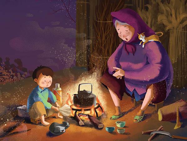 Bài văn phân tích hình ảnh bếp lửa số 7