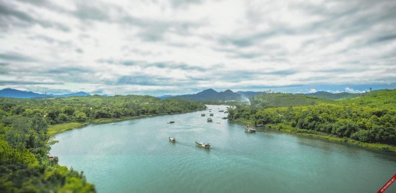 Bài văn tả dòng sông quê hương số 2