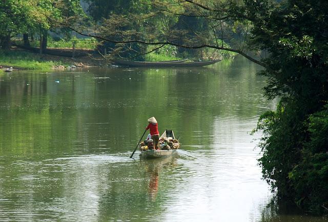 Bài văn tả dòng sông quê hương số 6