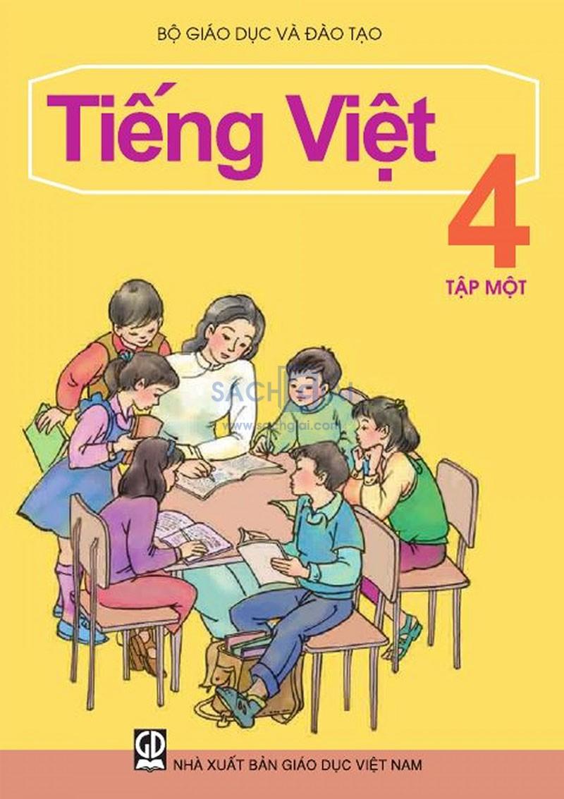 Dàn ý bài văn: Tả quyển sách Tiếng Việt lớp 7 tập 1