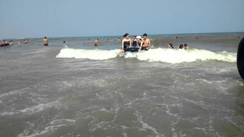 Nghỉ mát ở biển Sầm Sơn