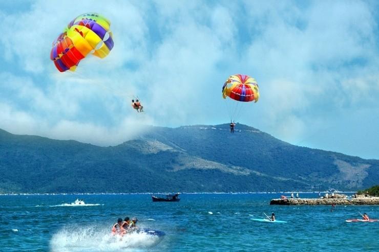 Vẻ đẹp kì diệu của biển Nha Trang