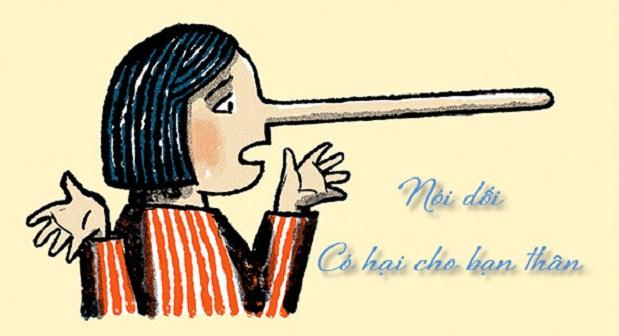 Bài văn chứng minh rằng nói dối có hại cho bản thân số 1