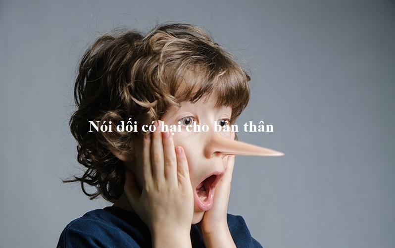 Bài văn chứng minh rằng nói dối có hại cho bản thân số 6