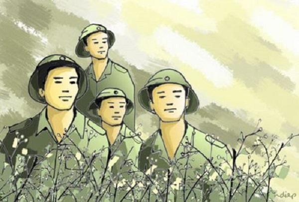 Bài văn phân tích hình tượng người lính số 2