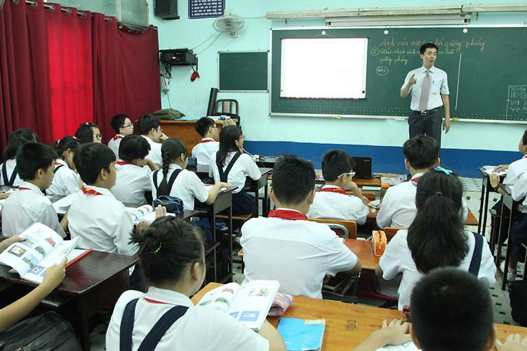 Bài văn tả thầy giáo số 6