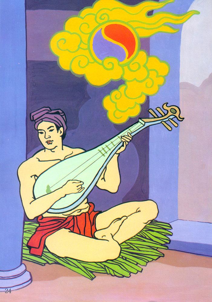 Bài văn miêu tả dũng sĩ Thạch Sanh số 2