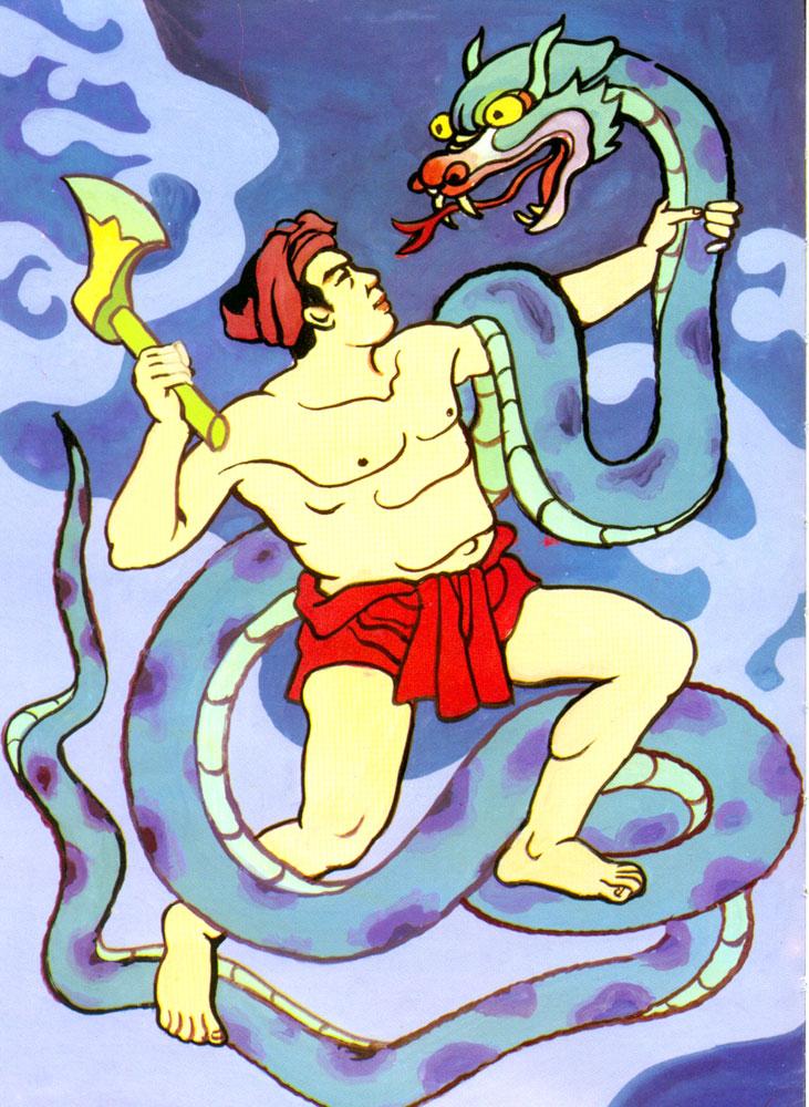 Bài văn miêu tả dũng sĩ Thạch Sanh số 5