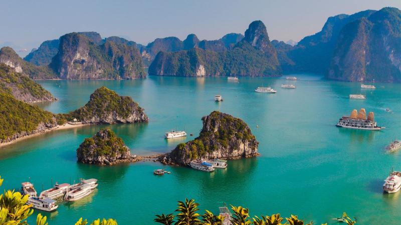 Bài văn thuyết minh về địa điểm du lịch - Vịnh Hạ Long
